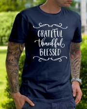GRATEFUL THANKFUL BLESSED Classic T-Shirt lifestyle-mens-crewneck-front-7