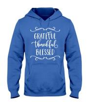 GRATEFUL THANKFUL BLESSED Hooded Sweatshirt thumbnail