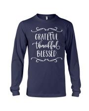 GRATEFUL THANKFUL BLESSED Long Sleeve Tee thumbnail