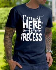 HERE RECESS Classic T-Shirt lifestyle-mens-crewneck-front-7