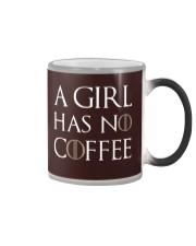 A Girl Has No Coffee Black Color Changing Mug thumbnail