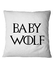 Baby Wolf Square Pillowcase tile