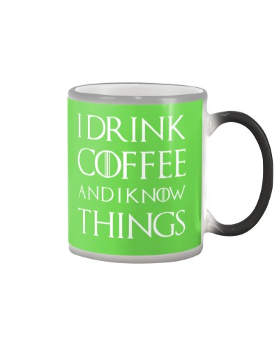 I Drink Coffee Black 1