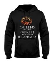 Queens January Hooded Sweatshirt thumbnail
