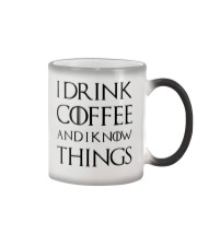I Drink Coffee Color Changing Mug thumbnail