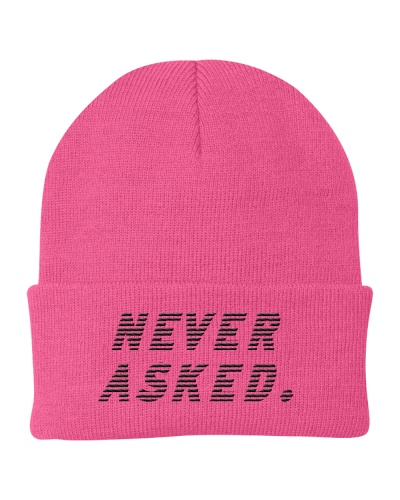 Never asked merch