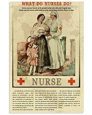 What Do Nurses Do Retro 11x17 Poster front