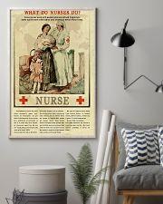What Do Nurses Do Retro 11x17 Poster lifestyle-poster-1