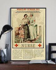 What Do Nurses Do Retro 11x17 Poster lifestyle-poster-2