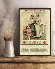 What Do Nurses Do Retro 11x17 Poster lifestyle-poster-3