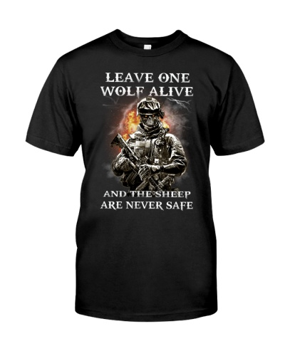 Veteran Leave one wolf alive