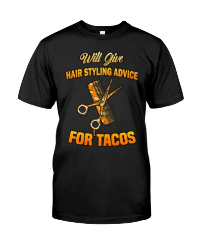 Will Give Hair Styling Advice For Tacos