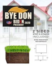 Bye don 18x12 Yard Sign aos-yard-sign-18x12-lifestyle-front-25