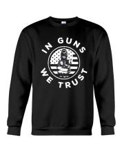 IN GUNS WE TRUST Crewneck Sweatshirt thumbnail