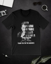 johnny hallyday shirt Classic T-Shirt lifestyle-mens-crewneck-front-16