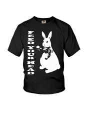 Inspired White Rabbit Alice In Wonderland Hippy Te Youth T-Shirt thumbnail