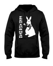 Inspired White Rabbit Alice In Wonderland Hippy Te Hooded Sweatshirt thumbnail