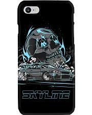 R34 BURNOUT BLUE PHONE CASE Phone Case i-phone-7-case