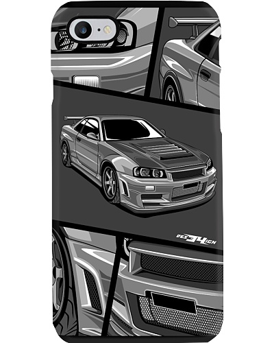 R34 COLLECTION PHONE CASE