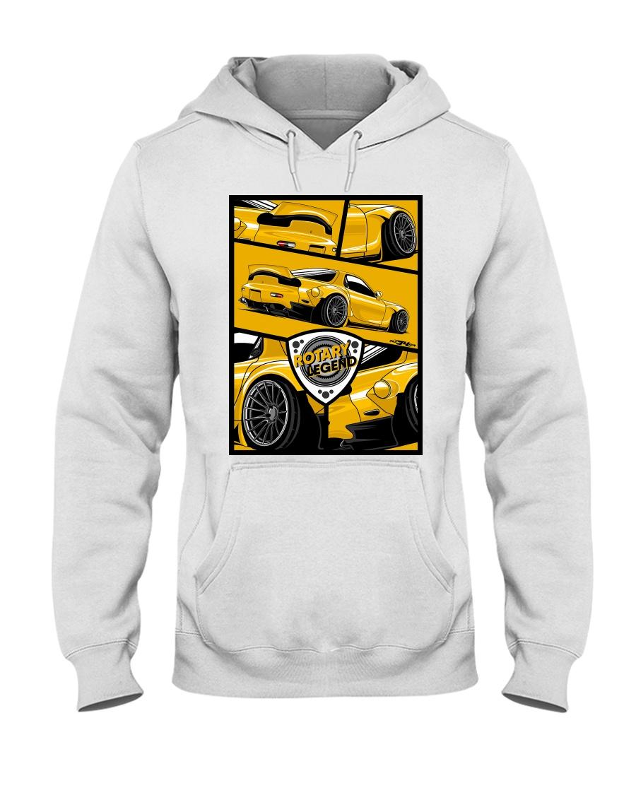 ROTARY LEGEND Hooded Sweatshirt