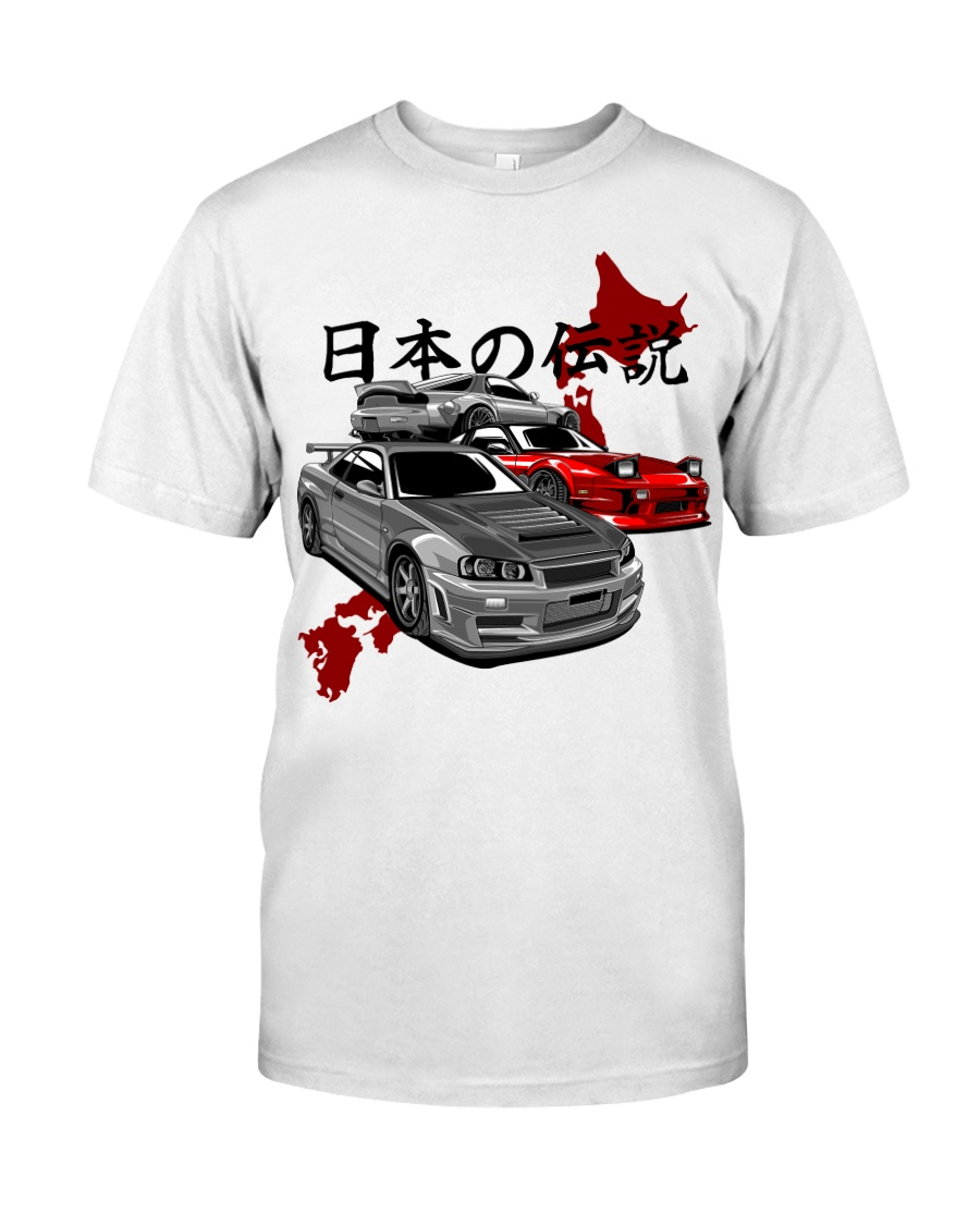 Japanese Legends Classic T-Shirt