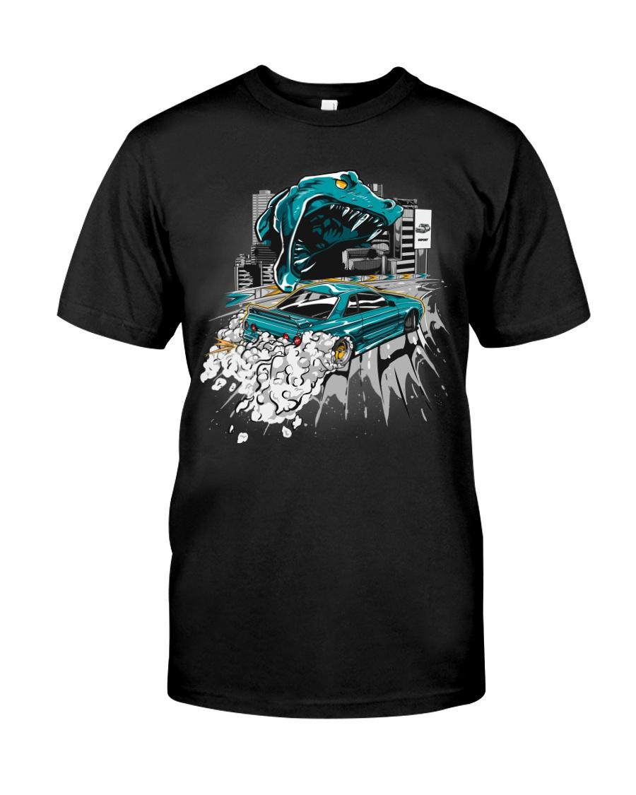GODZILLA IN CITY Classic T-Shirt