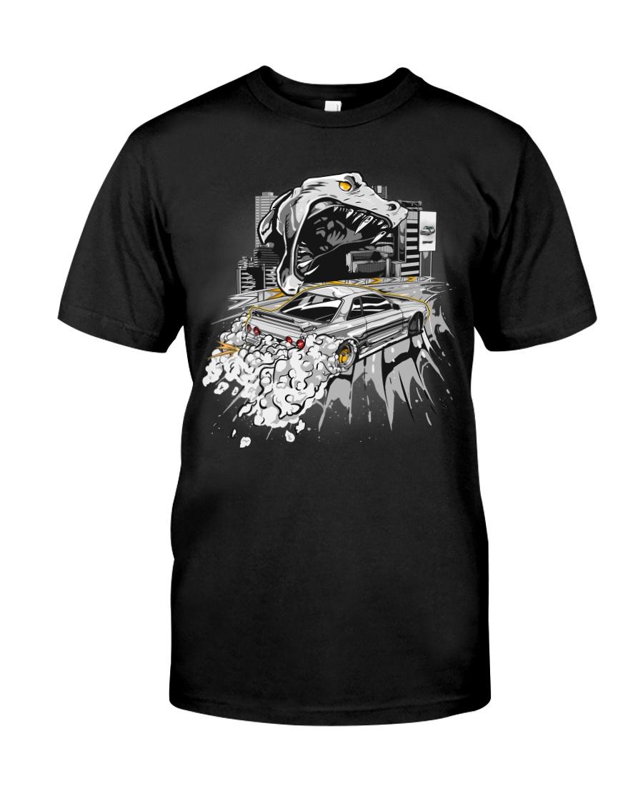 GODZILLA IN CITY WHITE Classic T-Shirt