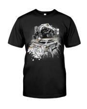 GODZILLA IN CITY WHITE Classic T-Shirt front