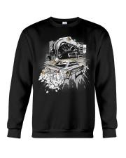 GODZILLA IN CITY WHITE Crewneck Sweatshirt thumbnail