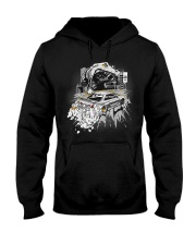 GODZILLA IN CITY WHITE Hooded Sweatshirt thumbnail