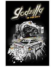 GODZILLA IN CITY WHITE 16x24 Poster thumbnail
