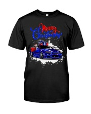 Merry Christmas SKYLINE Classic T-Shirt thumbnail