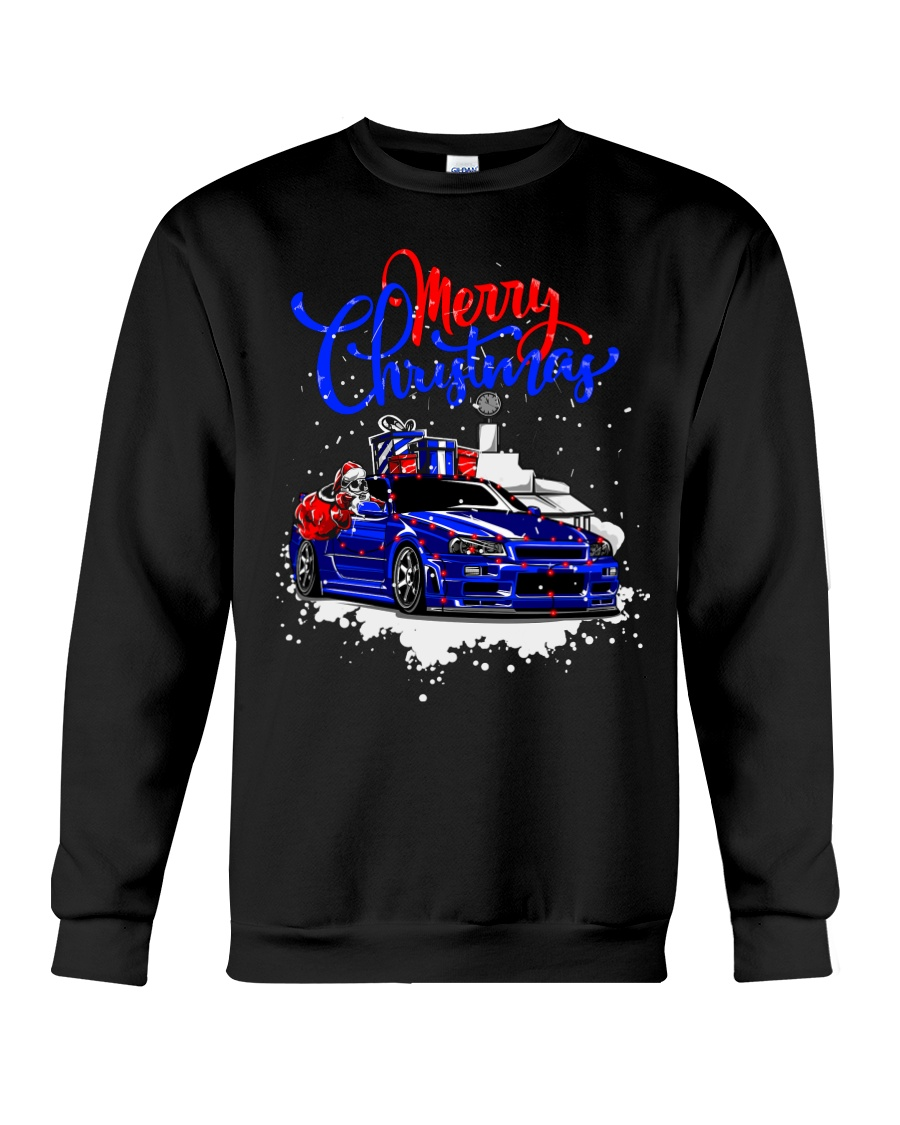 Merry Christmas SKYLINE Crewneck Sweatshirt