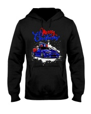 Merry Christmas SKYLINE Hooded Sweatshirt thumbnail