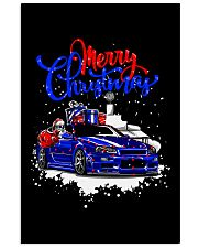 Merry Christmas SKYLINE Vertical Poster tile