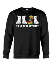 Its Ok To Be Different Goats Lover Goat Shirt Farm Crewneck Sweatshirt thumbnail