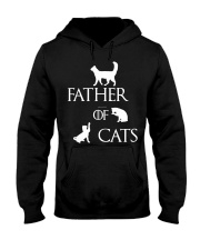 Father Of Cats Dad Tshirt Fatherday Shirt Papa Tee Hooded Sweatshirt thumbnail