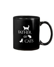 Father Of Cats Dad Tshirt Fatherday Shirt Papa Tee Mug thumbnail