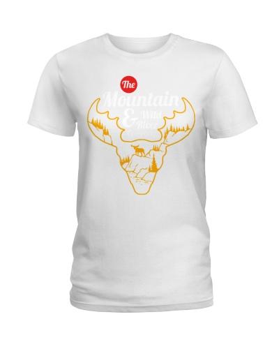 Mountain wild stag