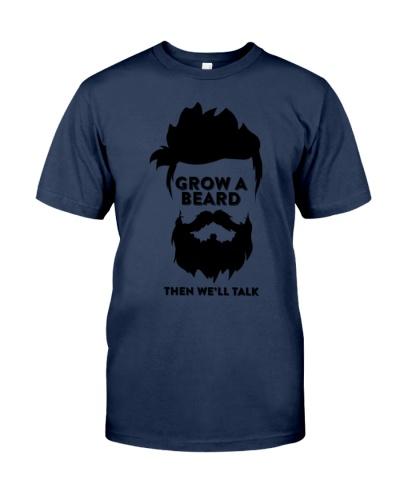 Grow A Beard For Men T-Shirt