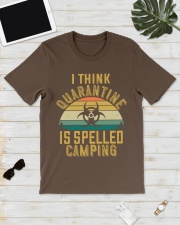 i think quarantine is spelled camping Classic T-Shirt lifestyle-mens-crewneck-front-17