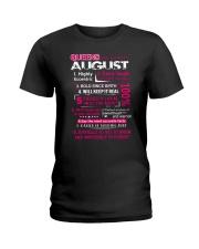 Queens-August Ladies T-Shirt front