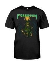 Forbidden Twisted Into Form Thrash Band Slayer Classic T-Shirt front