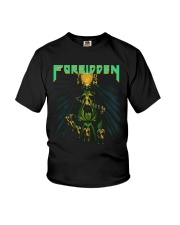 Forbidden Twisted Into Form Thrash Band Slayer Youth T-Shirt thumbnail