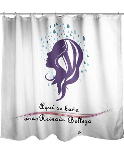 ducha reina de belleza