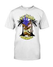 CANNABIS T-SHIRT HAWAIIEN SHIRT Classic T-Shirt thumbnail