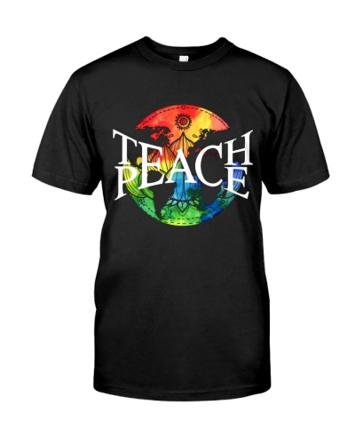 Peace Hippie teach peach