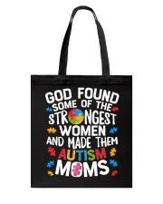 Autism GOD found Tshirt Tote Bag thumbnail