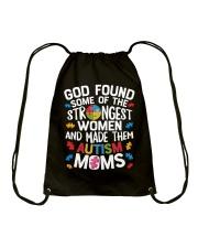 Autism GOD found Tshirt Drawstring Bag thumbnail