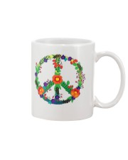 Hippie flower peace Mug thumbnail